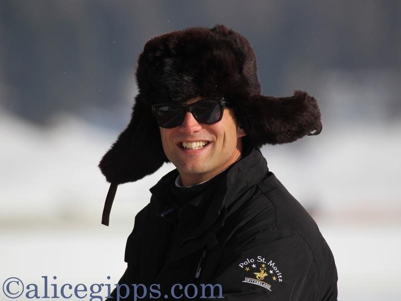 The voice of St. Moritz Snow Polo--and more