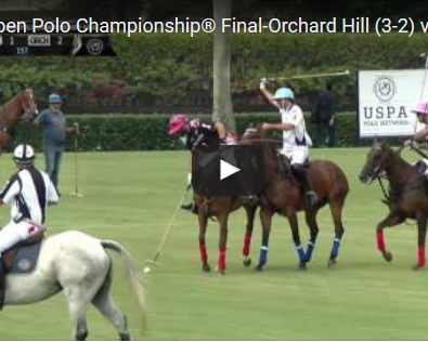 USPA POLO NETWORK US OPEN FINAL Video Commentary
