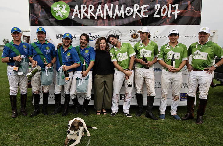 "Polo Rivals Go Head to Head in  ""Arranmore Polo Classic"""