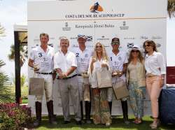 Glamour and excitement at the first Costa del Sol Beach Polo Tournament