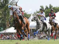 THE GAME IS ON! U.S. Open Polo Championship Final April 25 at 4 PM