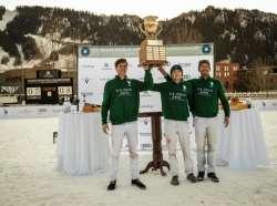 US Polo Assn Wins St Regis World Snow Polo Championship