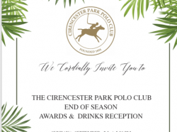End of Season Awards & Drinks Reception